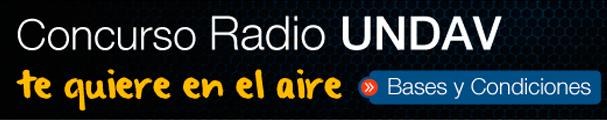 Concurso Radio UNDAV